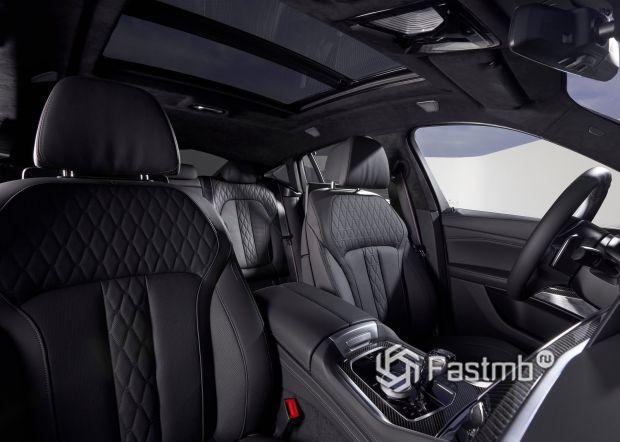 Передние сиденья кроссовера X6 G06