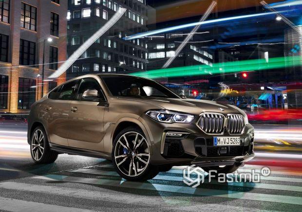 Третья генерация BMW X6 2020