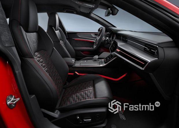 Передние сиденья Audi RS7 Sportback 2020