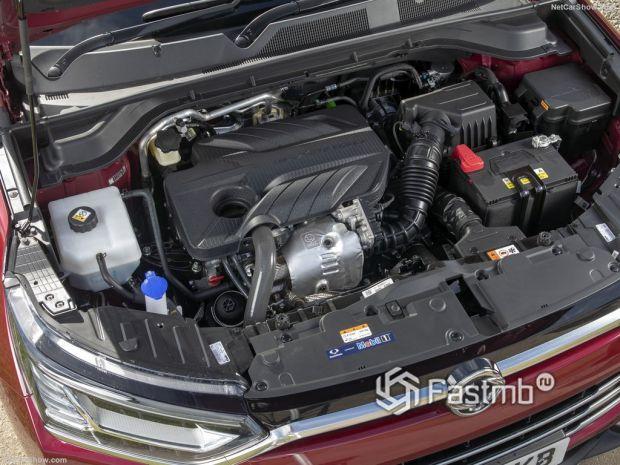SsangYong Korando 2020, двигатель