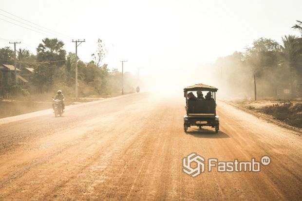 Камбоджа, аренда авто