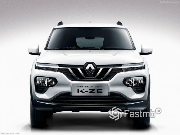 Renault City K-ZE 2020, вид спереди