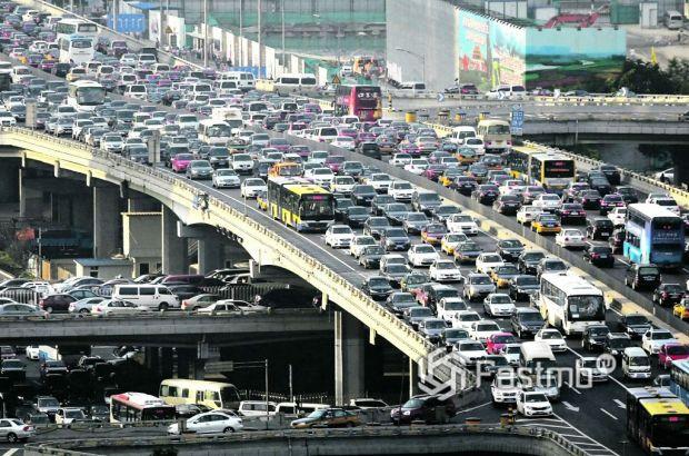 Китай, автомобильное движение