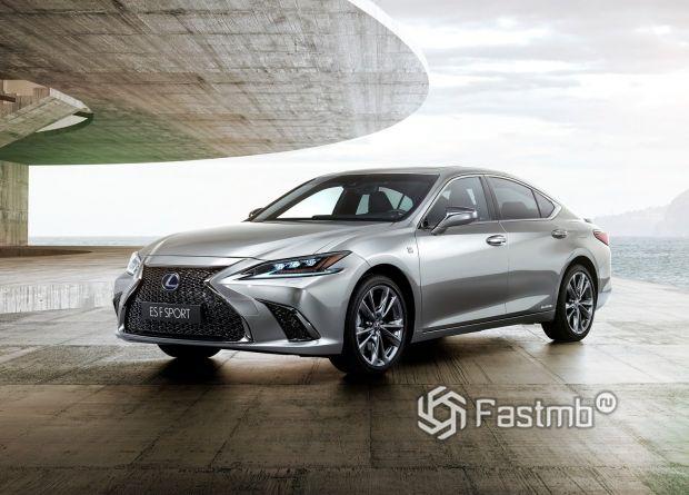 Седьмое поколение Lexus ES 2019