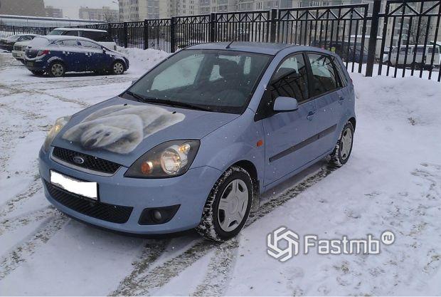 Форд Фиеста 1.6 л