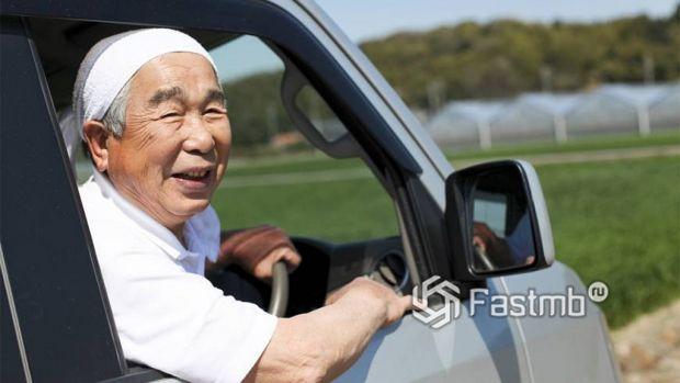получение прав в Японии