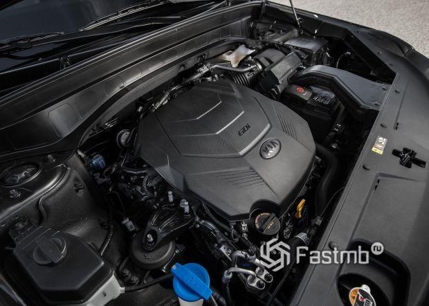 Бензиновый двигатель Kia Telluride 2020