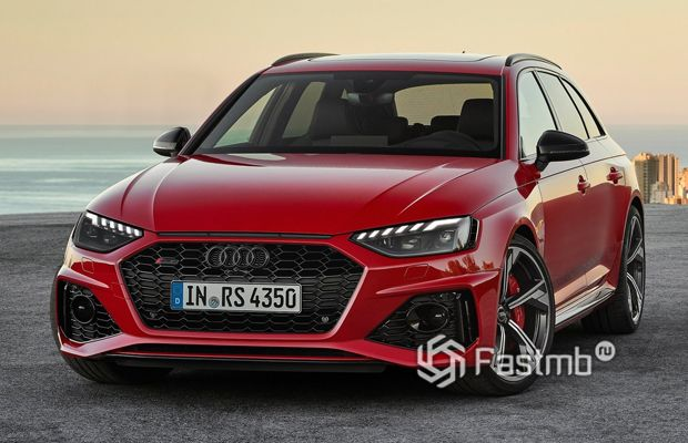 Обновленная Audi RS4 Avant 2020