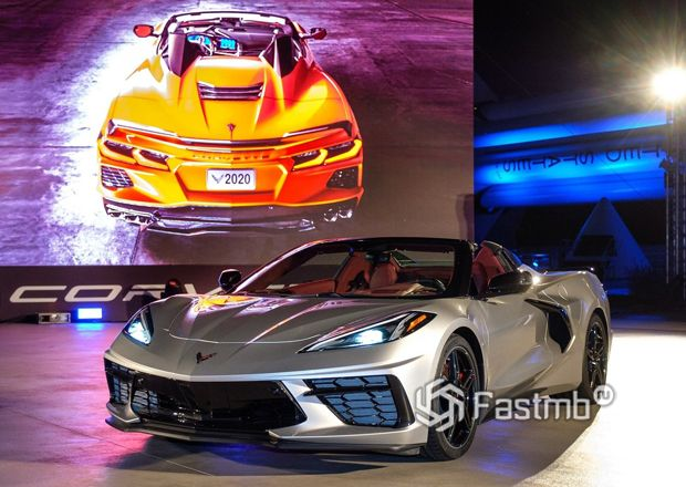 Новый родстер Chevrolet Corvette C8 Stingray Convertible 2020