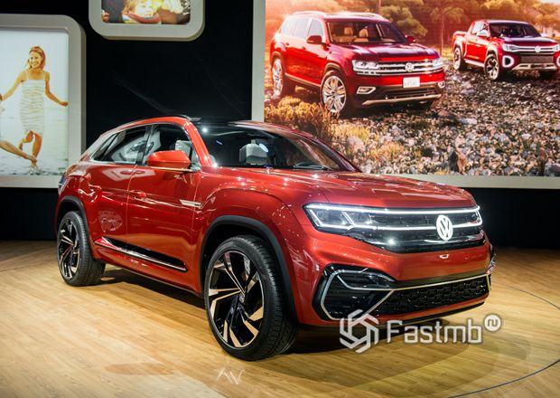 Новый Volkswagen Atlas Cross Sport R-Line