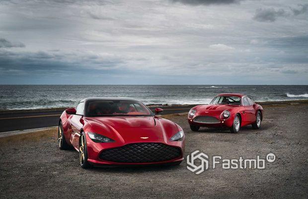 Новый Aston Martin DBS GT Zagato