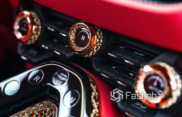Передняя панель Aston Martin DBS GT Zagato