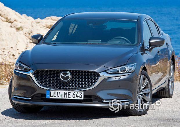 Передняя часть Mazda 6 2019