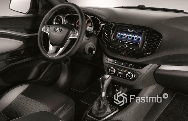 Интерьер Lada Vesta 2019-2020 с вариатором
