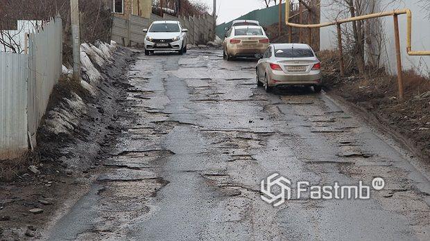 дороги в Саратове