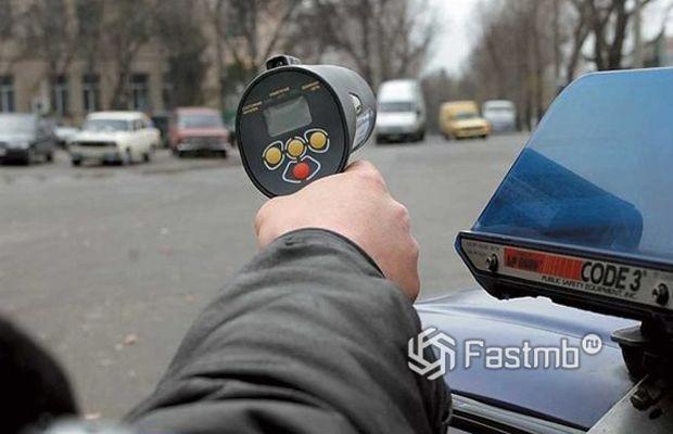 Контроль скорости машины