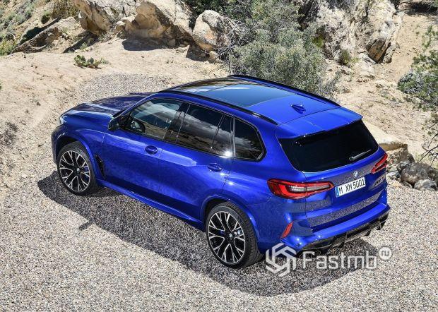 Задние стопы BMW X5 M Competition 2020