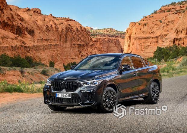 Новый BMW X6 M Competition 2020