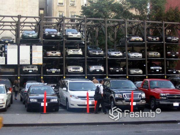 Проблема парковок