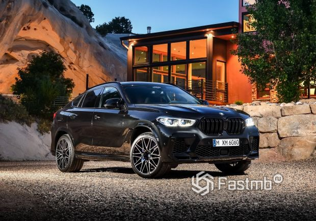 Новый BMW X6 M Competition 2020