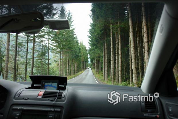 Скоростной режим в Норвегии