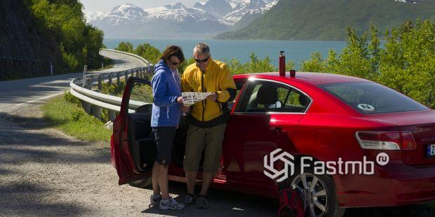 Как арендовать машину в Норвегии