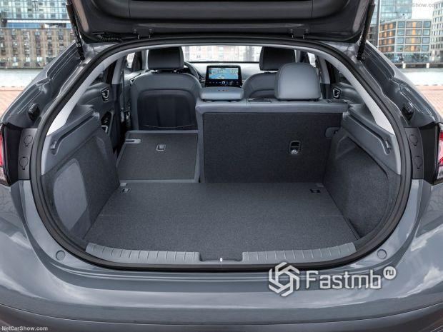 Hyundai Ioniq 2020, багажник