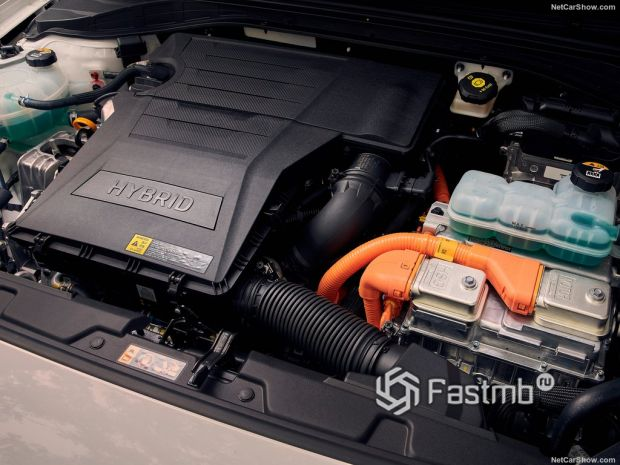 Hyundai Ioniq 2020, двигатель