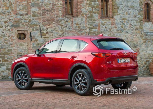 Mazda CX-5 2019-2020, вид сзади