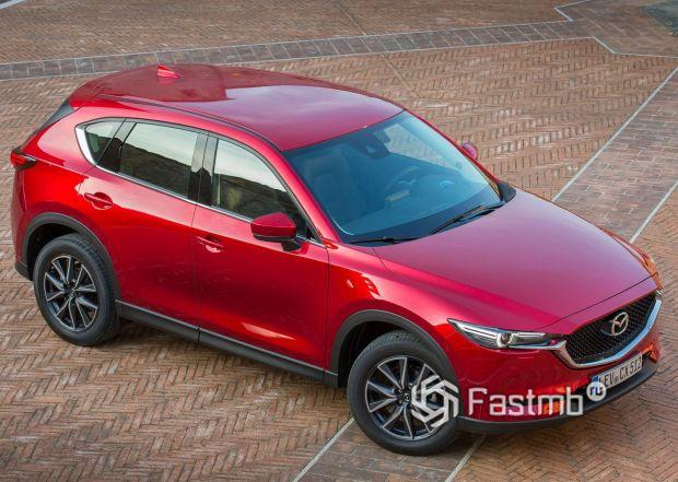 Крыша новой Mazda CX-5 2019