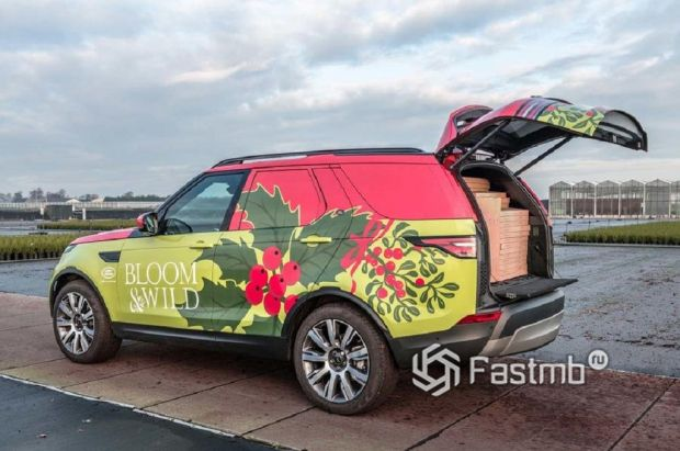 внедорожник Land Rover Discovery Commercial