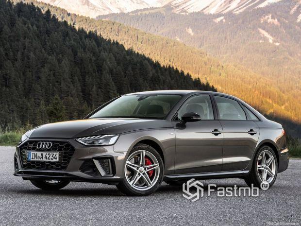 Обзор Audi A4 2020