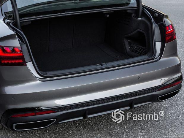 Audi A4 2020, багажник