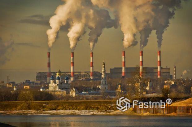 атмосферные выбросы ТЭЦ
