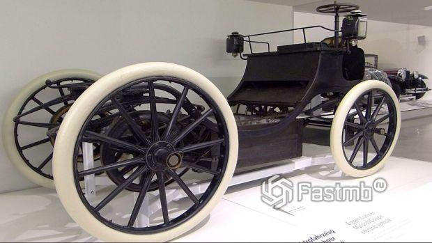 один из первых электромобилей начала ХХ века, Вена