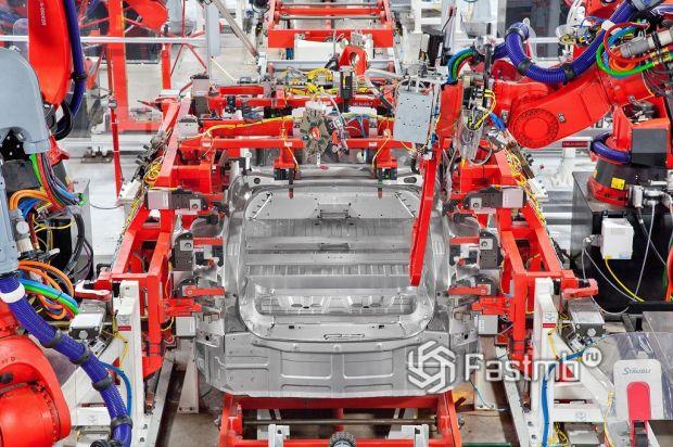сборочный цех электромобилей