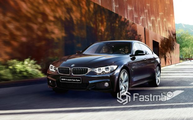 BMW 4 серии Grand Coupe