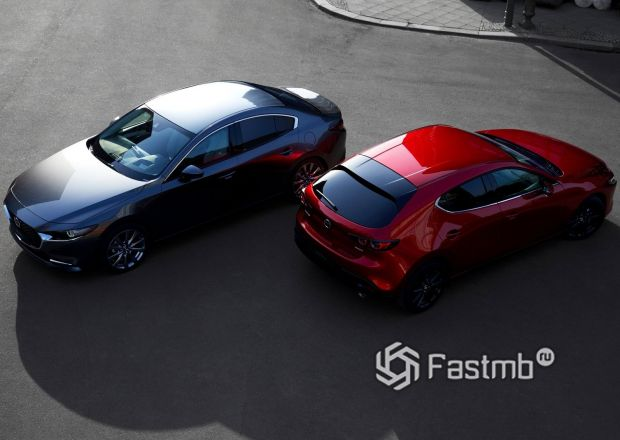 Новые седан и хэтчбек Mazda 3 2019
