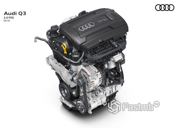 Бензиновый двигатель Audi Q3 2019