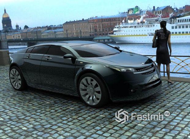 ГАЗ 5000 GL «Волга»