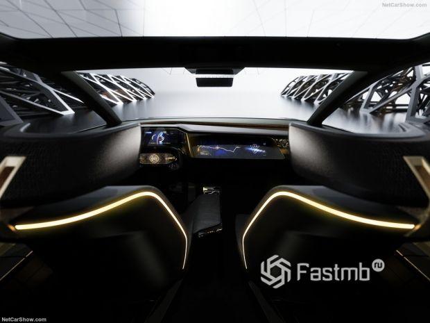 Nissan IMs Concept 2019, панель управления