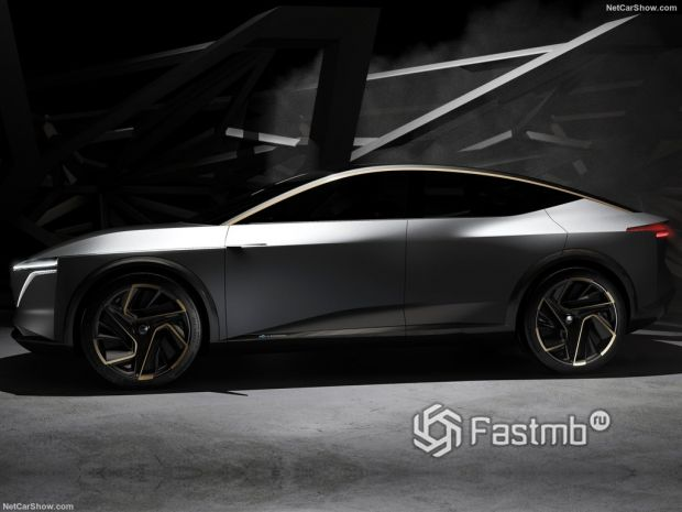 Nissan IMs Concept 2019, вид сбоку слева