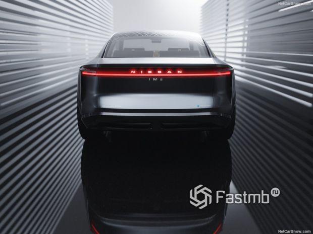 Nissan IMs Concept 2020, вид сзади