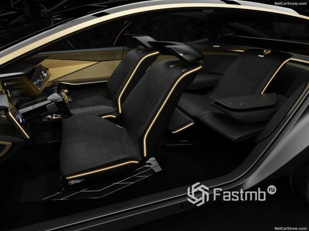 Nissan IMs Concept 2019, сидения