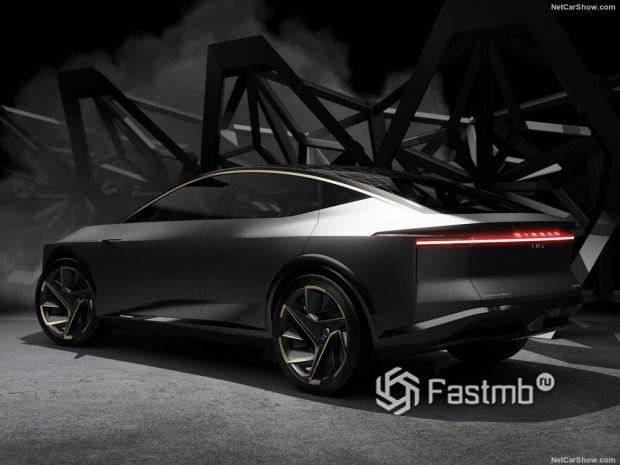 Nissan IMs Concept 2019, вид сзади и сбоку слева