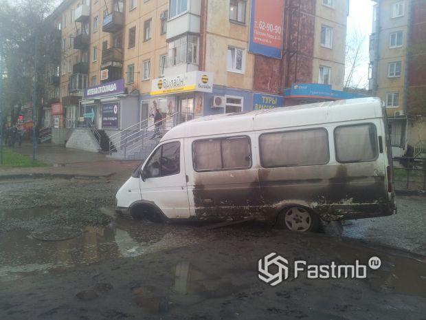 дороги в Омске
