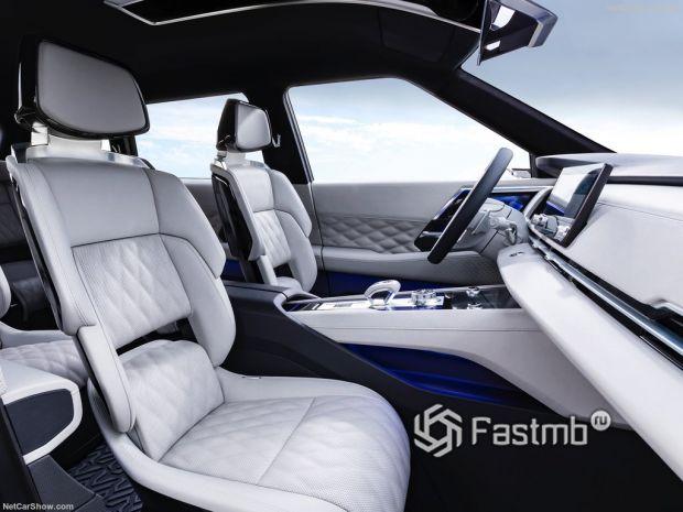 Mitsubishi Engelberg Tourer Concept 2019, передние сидения