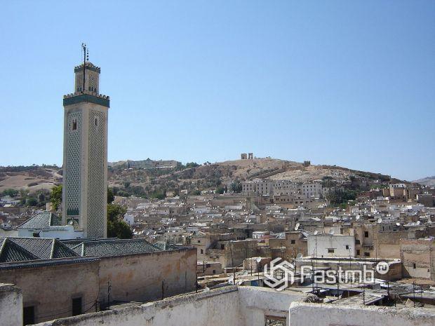 панорама Феса, Марокко