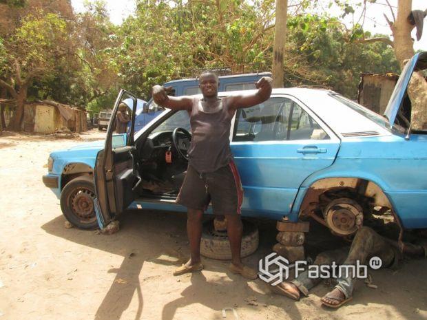 путешествие на автомобиле по Африке