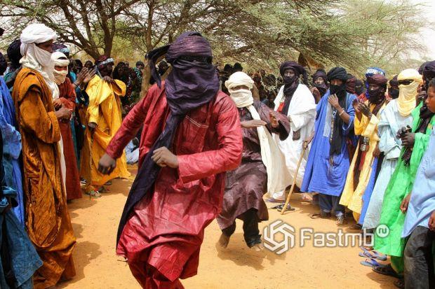 национальный танец, Сахара